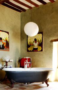 Simple Pleasures bathroom italian