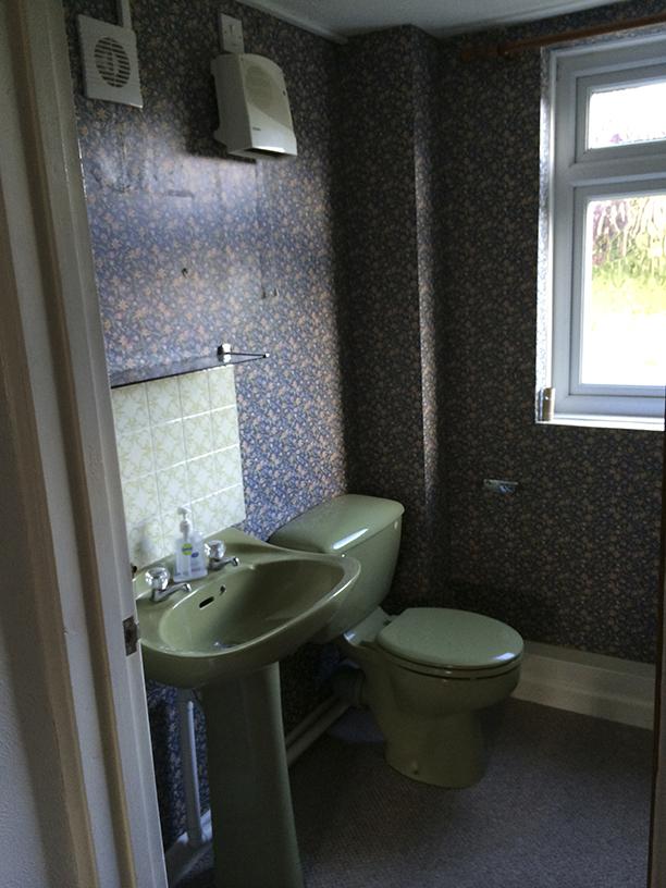 bathroom before rennovation