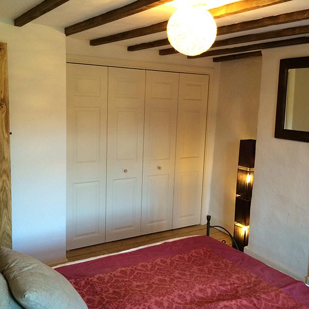 Master bedroom after restoration